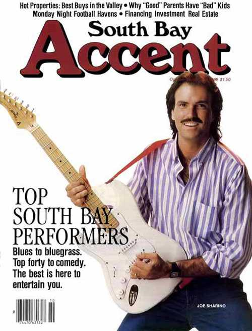 Joe Sharino on cover of the South Bay Accent
