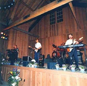 The Joe Sharino Band in Felton, 1998